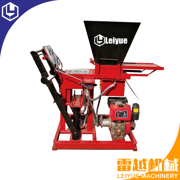LY2-25 Eco Brava interlocking soil brick machine