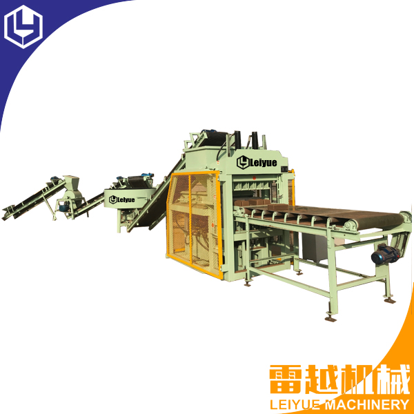 LY5-10 Automatic interlocking block making machine