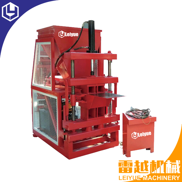 LY2-10  fully automatic interlocking block machine