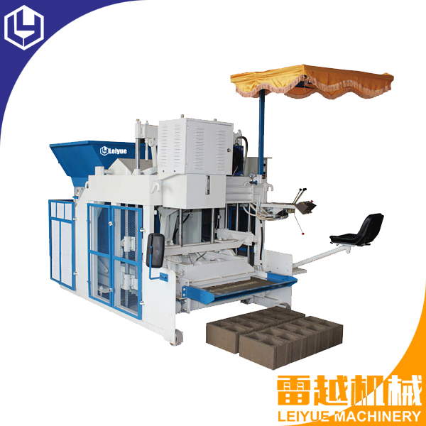 LY10-15 Mobile block machine
