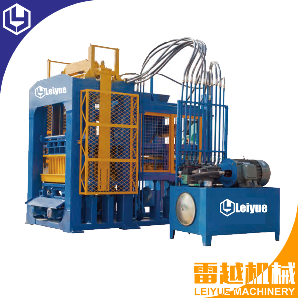 QT8-15 curbstone/ kerb stone making machine