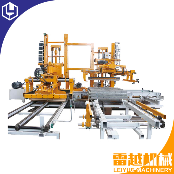 Block pallet separate machine