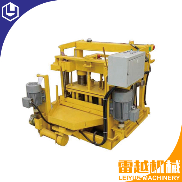QT40-3A hydraulic mobile hollow block maker manual